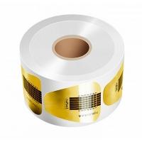 RuNail, Одноразовые формы (широкие, золотые) 500 шт.