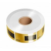 RuNail, Форма для наращивания ногтей в рулоне, узкие, золотые (500 шт.)