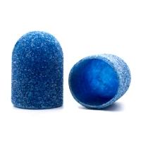 Silver Kiss, Колпачок абразивный на тканевой основе 10 мм, синий 80 грит