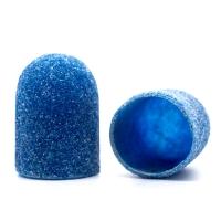 Silver Kiss, Колпачок абразивный на тканевой основе 13 мм, синий 80 грит