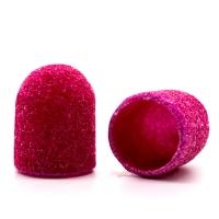 Silver Kiss, Колпачок абразивный на тканевой основе 10 мм, розовый 120 грит