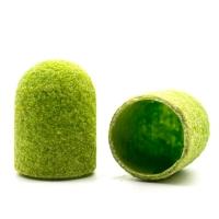 Silver Kiss, Колпачок абразивный на тканевой основе 10 мм, зеленый 150 грит