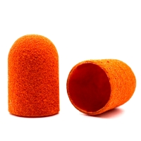 Silver Kiss, Колпачок абразивный на тканевой основе 16 мм, оранжевый 240 грит