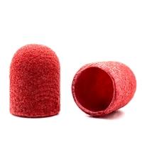 Silver Kiss, Колпачок абразивный на тканевой основе 10 мм, красный 320 грит