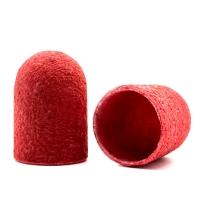 Silver Kiss, Колпачок абразивный на тканевой основе 13 мм, красный 320 грит