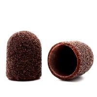 Silver Kiss, Колпачок абразивный на тканевой основе 10 мм, коричневый 120 грит
