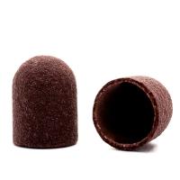 Silver Kiss, Колпачок абразивный на тканевой основе 13 мм, коричневый 320 грит