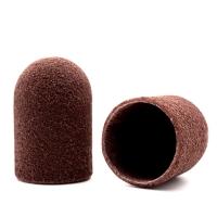 Silver Kiss, Колпачок абразивный на тканевой основе 16 мм, коричневый 320 грит