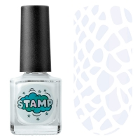 IRISK professional, Лак-краска для стемпинга Stamp Classic №001 Полярный день, 8 мл