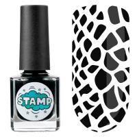 IRISK professional, Лак-краска для стемпинга Stamp Classic №002 Чёрная пантера, 8 мл