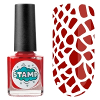 IRISK professional, Лак-краска для стемпинга Stamp Classic №003 Дикая малина, 8 мл