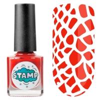 IRISK professional, Лак-краска для стемпинга Stamp Classic №004 Красный барон, 8 мл