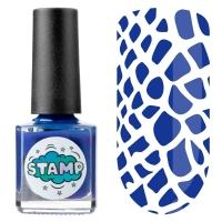 IRISK professional, Лак-краска для стемпинга Stamp Classic №005 Океанские глубины, 8 мл