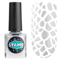 IRISK professional, Лак-краска для стемпинга Stamp Chrome №001 Серебряный город, 8 мл
