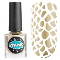 IRISK professional, Лак-краска для стемпинга Stamp Chrome №002 Золотая лихорадка, 8 мл
