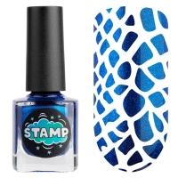 IRISK professional, Лак-краска для стемпинга Stamp Chrome №008 Глубокий космос, 8 мл