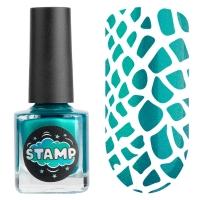 IRISK professional, Лак-краска для стемпинга Stamp Chrome №010 Морская гладь, 8 мл