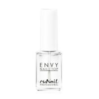 RuNail, Покрытие верхнее для ногтей Глянцевый блеск Envy Nail Top, 12 мл
