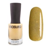 MASURA, Лак для ногтей Горчичный Желтый, 11 мл