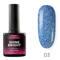 Гель-лак светоотражающий TNL Shine Bright №03 - Звездный небосвод (10 мл.)