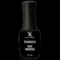 Nika Nagel, Финиш-гель Gel Finisch-french WEISS, 15 мл