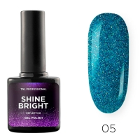 Гель-лак светоотражающий TNL Shine Bright №05 - Лазурный пейзаж (10 мл.)