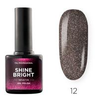 Гель-лак светоотражающий TNL Shine Bright №12 - Лунная ночь (10 мл.)