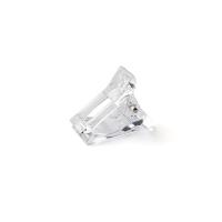 IRISK Professional, Зажим-прищепка пластиковая для фиксации верхних форм, прозрачная