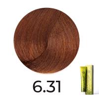 FarmaVita, B.LIFE COLOR 6.31 Темный блондин золотисто- коричневый, 100 мл