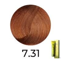 FarmaVita, B.LIFE COLOR 7.31 Блондин золотисто-коричневый, 100 мл