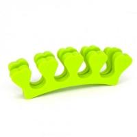 Разделители для пальцев, салатовые 5 пар/уп.