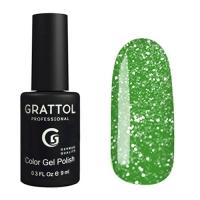 Grattol, Гель-лак светоотражающий Bright Neon №02 (9мл )