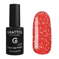Grattol, Гель-лак светоотражающий Bright Neon №05 (9мл )