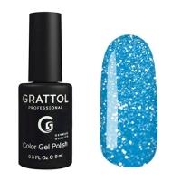 Grattol, Гель-лак светоотражающий Bright Neon №08 (9мл )