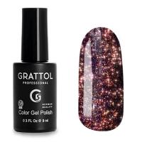 Grattol, Гель-лак светоотражающий Bright Star №05 (9мл )