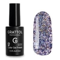 Grattol, Гель-лак светоотражающий Bright Star №08 (9мл )