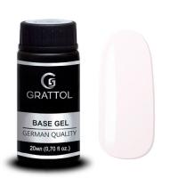 Grattol, База Каучуковая для гель-лака Rubber Base Camouflage 1 (20 мл)