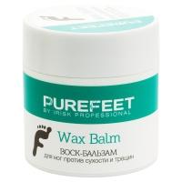IRISK professional, Воск-бальзам для ног PureFeet Wax Balm против сухости и трещин, 50 мл
