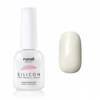 RuNail, Силиконовая камуфлирующая база для гель-лака №6044, 10 мл