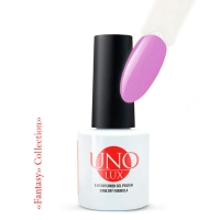 UNO Lux, Гель-лак Лиловый закат (№121 Purple Sunset), 8 мл