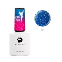 ADRICOCO, Цветной гель-лак Little Pixie №01 - Небесная роса (8 мл)