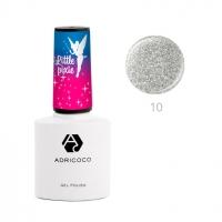 ADRICOCO, Цветной гель-лак Little Pixie №10 - Призрачный мираж (8 мл)