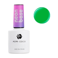 ADRICOCO, Цветная база Neon Base №06- Зеленое киви (8 мл.)