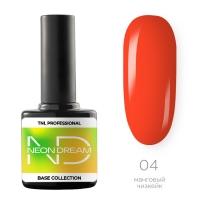 TNL, Цветная база Neon dream base №04 - манговый чизкейк, 10 мл