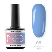 TNL, Цветная база Nude dream base №06- лавандовый мусс, 10 мл
