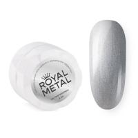 TNL, Royal metal, Металлическая гель-краска для дизайна ногтей с зеркальным эффектом, 5 мл