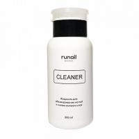RuNail, Жидкость для снятия липкого слоя, 200 мл