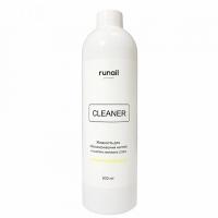 RuNail, Жидкость для обезжиривания ногтей и снятия липкого слоя (аромат: банан), 500 мл