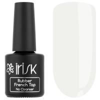 IRISK professional, Финиш каучуковый цветной без липкого слоя Rubber French Top No Cleanser 02 Milky, 10 мл