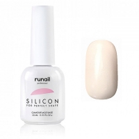 RuNail, Силиконовая камуфлирующая база для гель-лака №6047, 10 мл
